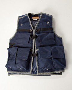 Image of Rogue Extreme Cruiser Forestry/Utility Vest In Navy with Charcoal Binding