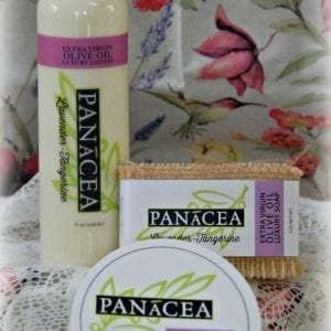 Gift Set Including Olive Oil Body Products
